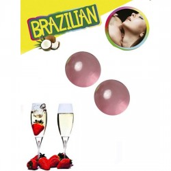 SECRET PLAY SET 2 BRAZILIAN BALLS AROMA FRESA CAVA