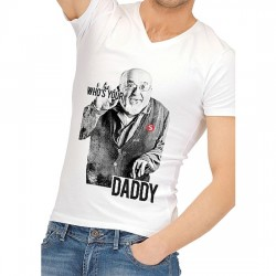 CAMISETA DIVERTIDA WHO IS YOUR DADDY