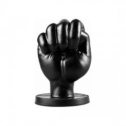 ALL BLACK FIST 13CM NEGRO