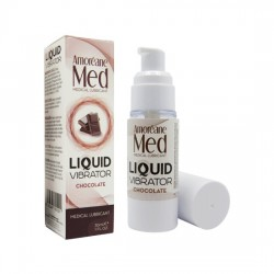 AMOREANE VIBRADOR LiQUIDO 30ML CHOCOLATE