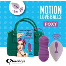 FEELZTOYS MOTION LOVE BALLS FOXY