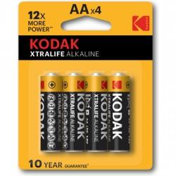 KODAK XTRALIFE ALKALINE AA 4UDS