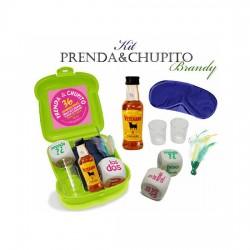 KIT PRENDA Y CHUPITO BRANDY