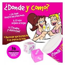 CUBILETE 2 DADO DONDE Y COMO LESBIANAS