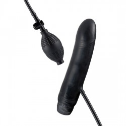 BOB THE BLOWER VIBRADOR HINCHABLE NEGRO